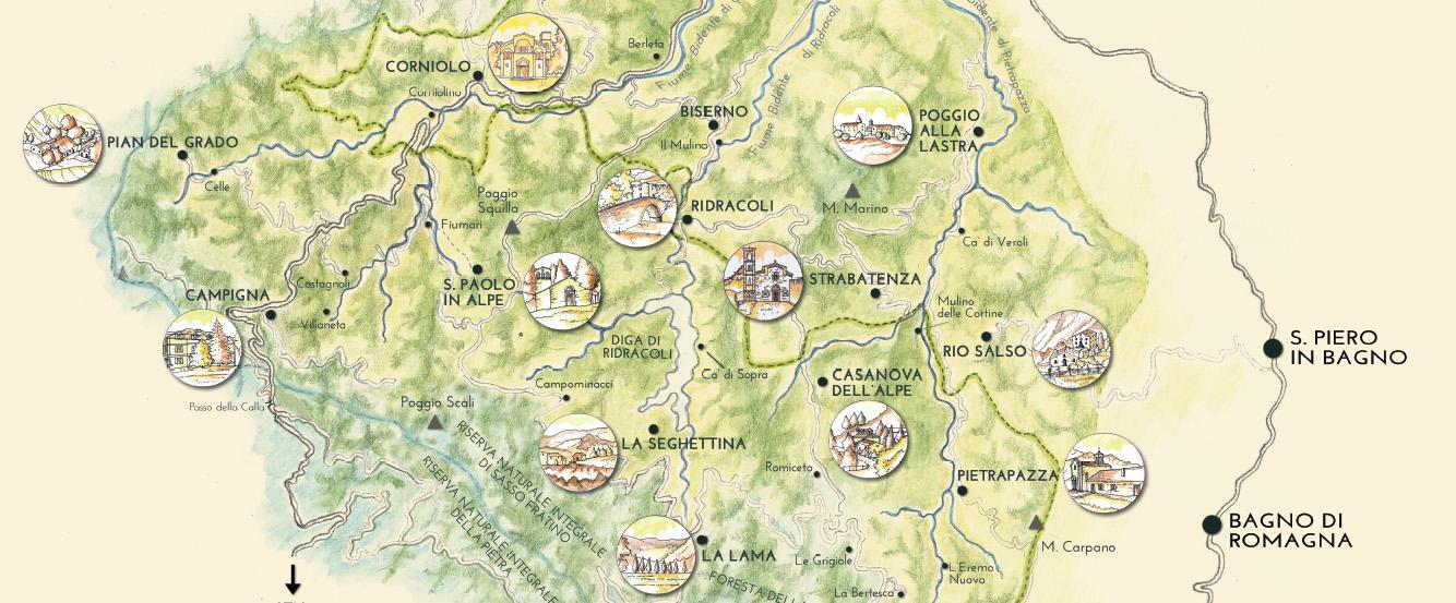MAPPE INTERATTIVE - Popoli del Parco
